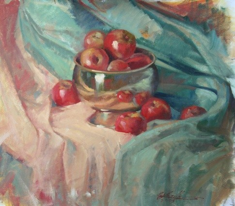 Copper & Apples – Oil (1)