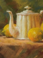 Lemon Tea 8×10 Pastel  $500