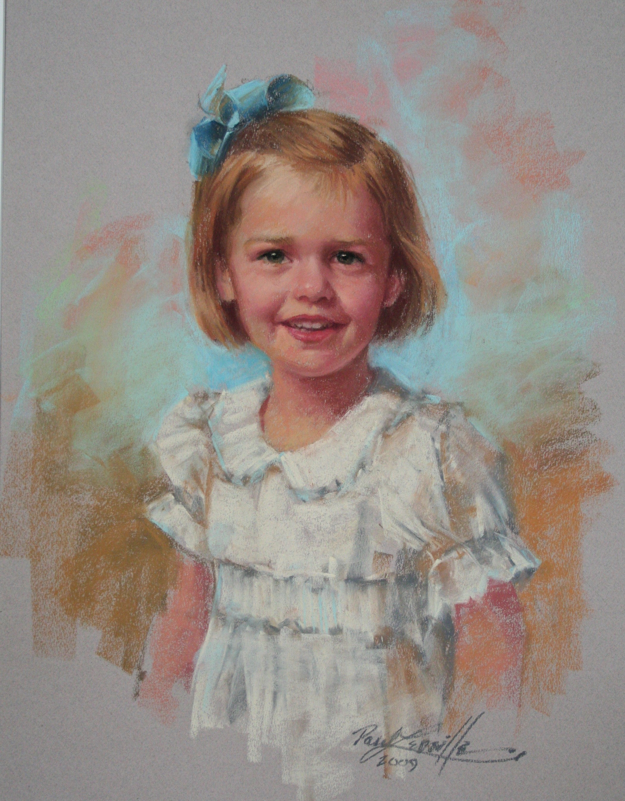 Mary Morgan – Informal Pastel