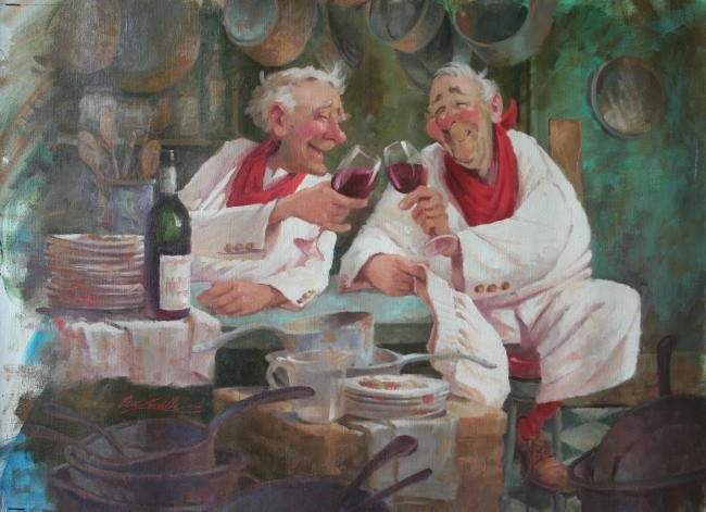 Toasting Chefs