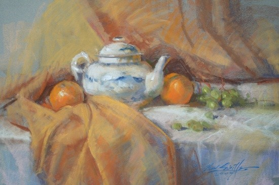 teapot and organges 07